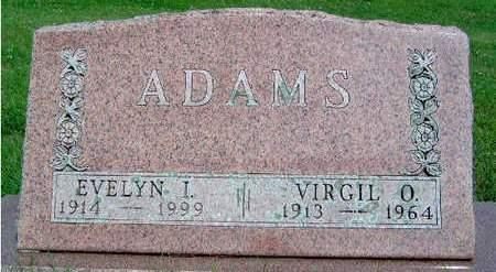 ADAMS, VIRGIL ORRIS - Madison County, Iowa | VIRGIL ORRIS ADAMS