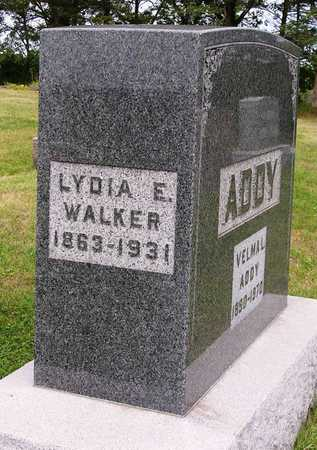 WALKER ADDY, LYDIA ELIZABETH - Madison County, Iowa | LYDIA ELIZABETH WALKER ADDY