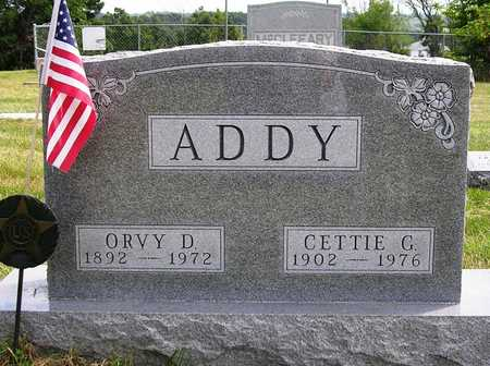 ADDY, ORVY DODD - Madison County, Iowa | ORVY DODD ADDY