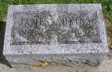 ADKINS, JAMES HENRY - Madison County, Iowa | JAMES HENRY ADKINS