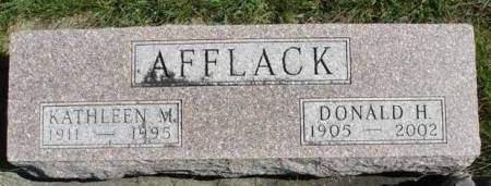 AFFLACK, KATHLEEN - Madison County, Iowa | KATHLEEN AFFLACK