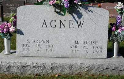AGNEW, S. BROWN - Madison County, Iowa | S. BROWN AGNEW