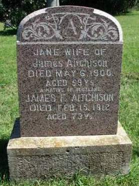 AITCHISON, GRACE JANE M. - Madison County, Iowa | GRACE JANE M. AITCHISON