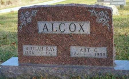 RAY ALCOX, BEULAH E. - Madison County, Iowa | BEULAH E. RAY ALCOX