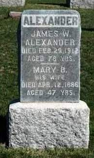 ALEXANDER, MARY BELLE - Madison County, Iowa | MARY BELLE ALEXANDER
