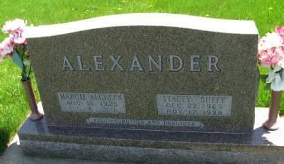 ALEXANDER, STACEY (BUFFY) - Madison County, Iowa | STACEY (BUFFY) ALEXANDER