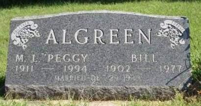 ALGREEN, BILL - Madison County, Iowa | BILL ALGREEN