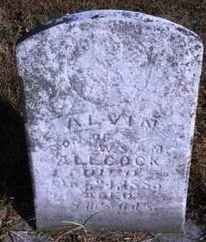 ALLCOCK, ALVIN - Madison County, Iowa | ALVIN ALLCOCK