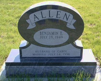 ALLEN, BENJAMIN T. - Madison County, Iowa | BENJAMIN T. ALLEN