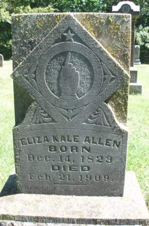 ALLEN, ELIZA - Madison County, Iowa | ELIZA ALLEN