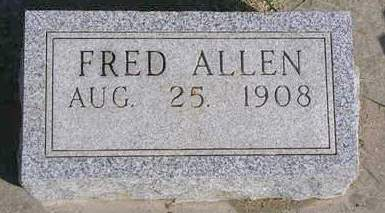 ALLEN, FRED - Madison County, Iowa | FRED ALLEN
