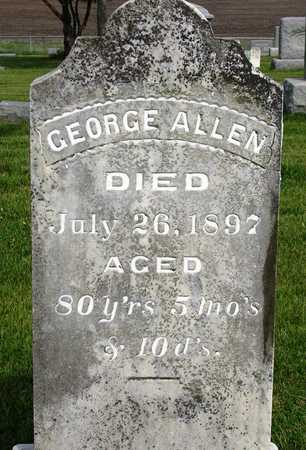 ALLEN, GEORGE - Madison County, Iowa | GEORGE ALLEN