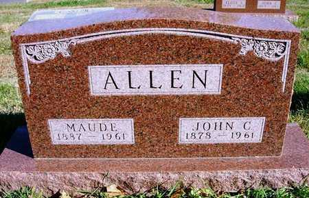 ALLEN, MAUDE - Madison County, Iowa | MAUDE ALLEN