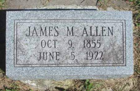 ALLEN, JAMES MADISON - Madison County, Iowa | JAMES MADISON ALLEN