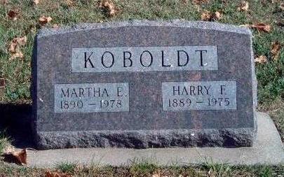 ALLEN KOBOLDT, MARTHA ELIZABETH - Madison County, Iowa | MARTHA ELIZABETH ALLEN KOBOLDT