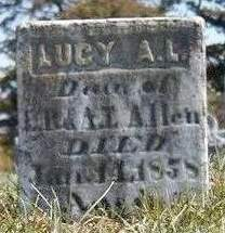 ALLEN, LUCY A. L. - Madison County, Iowa | LUCY A. L. ALLEN