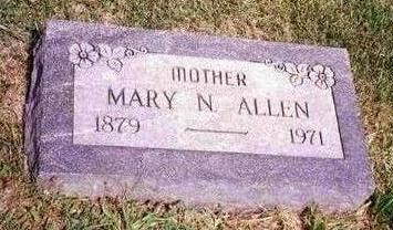 ALLEN, MARY N. - Madison County, Iowa | MARY N. ALLEN