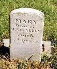 ALLEN, MARY M. - Madison County, Iowa | MARY M. ALLEN