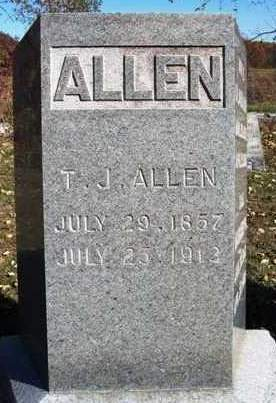 ALLEN, THOMAS JEFFERSON - Madison County, Iowa | THOMAS JEFFERSON ALLEN