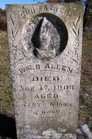 ALLEN, WILLIAM BURNS - Madison County, Iowa   WILLIAM BURNS ALLEN