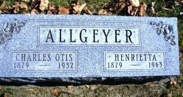 ALLGEYER, CHARLES OTIS - Madison County, Iowa | CHARLES OTIS ALLGEYER