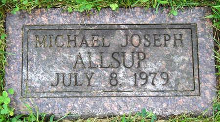 ALLSUP, MICHAEL JOSEPH - Madison County, Iowa | MICHAEL JOSEPH ALLSUP