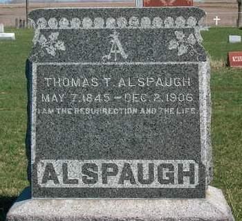 ALSPAUGH, THOMAS THOMPSON - Madison County, Iowa | THOMAS THOMPSON ALSPAUGH