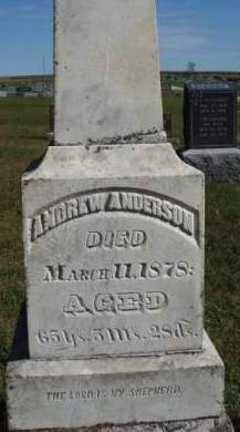 ANDERSON, ANDREW L. - Madison County, Iowa | ANDREW L. ANDERSON