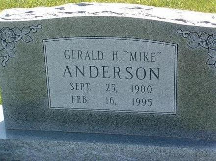 ANDERSON, GERALD H.  (MIKE) - Madison County, Iowa | GERALD H.  (MIKE) ANDERSON