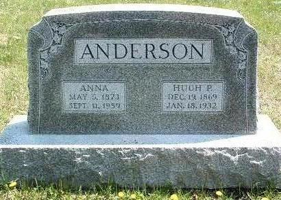 IRWIN ANDERSON, ANNA - Madison County, Iowa | ANNA IRWIN ANDERSON