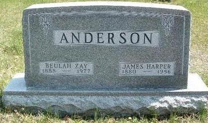 ANDERSON, JAMES HARPER - Madison County, Iowa | JAMES HARPER ANDERSON