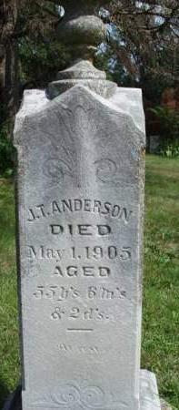 ANDERSON, JOSEPH T. - Madison County, Iowa | JOSEPH T. ANDERSON