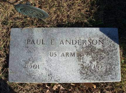 ANDERSON, PAUL EUGENE - Madison County, Iowa | PAUL EUGENE ANDERSON