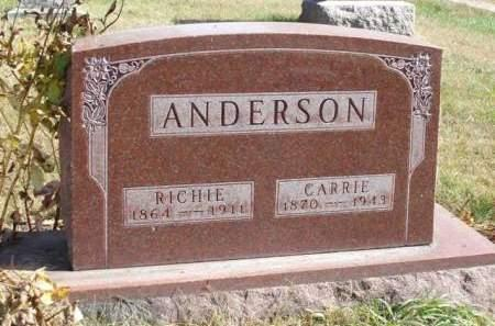 ANDERSON, CARRIE MAY - Madison County, Iowa | CARRIE MAY ANDERSON
