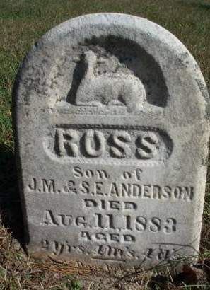 ANDERSON, ROSS F. - Madison County, Iowa | ROSS F. ANDERSON