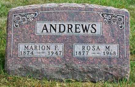 ANDREWS, MARION FRANCIS - Madison County, Iowa | MARION FRANCIS ANDREWS