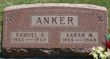 ANKER, SARAH MARGARET - Madison County, Iowa | SARAH MARGARET ANKER