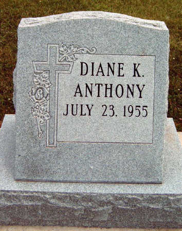 ANTHONY, DIANE K. - Madison County, Iowa | DIANE K. ANTHONY