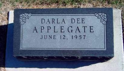 APPLEGATE, DARLA DEE - Madison County, Iowa | DARLA DEE APPLEGATE