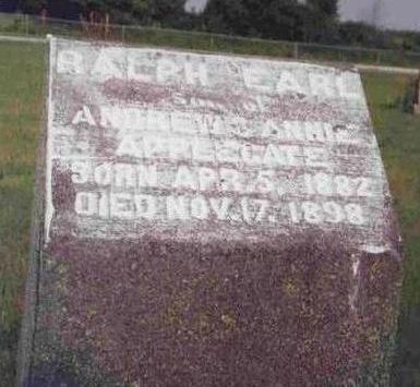 APPLEGATE, RALPH EARL - Madison County, Iowa | RALPH EARL APPLEGATE