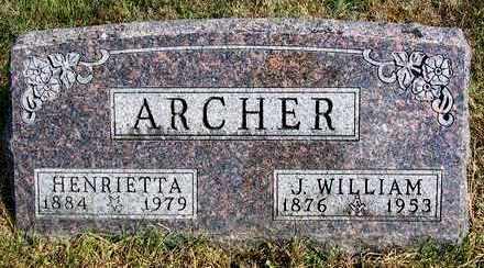 LARRINGTON ARCHER, HENRIETTA - Madison County, Iowa | HENRIETTA LARRINGTON ARCHER