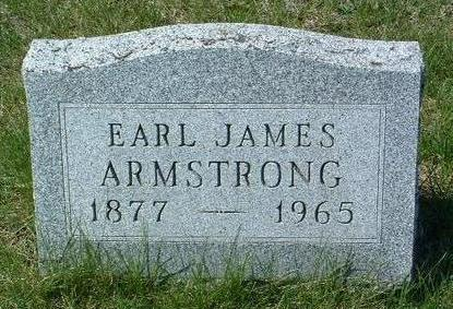 ARMSTRONG, EARL JAMES - Madison County, Iowa | EARL JAMES ARMSTRONG