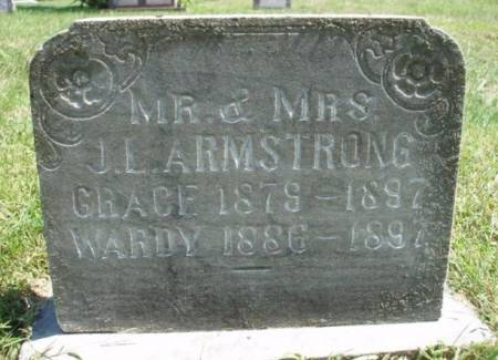 ARMSTRONG, JOHN WARD (WARDY) - Madison County, Iowa | JOHN WARD (WARDY) ARMSTRONG