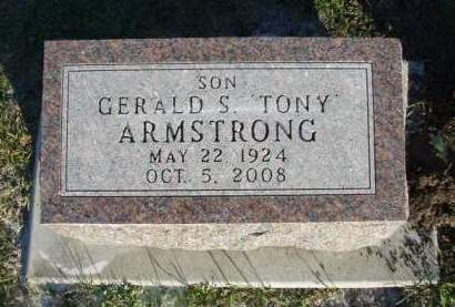 ARMSTRONG, GERALD S. (TONY) - Madison County, Iowa | GERALD S. (TONY) ARMSTRONG