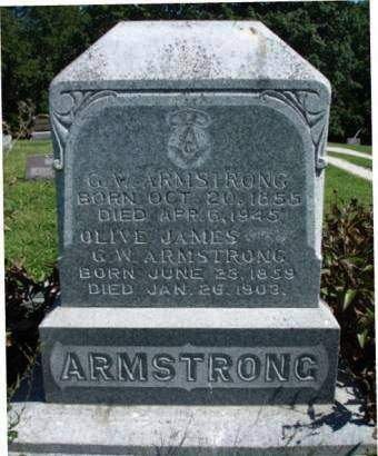 ARMSTRONG, OLIVE - Madison County, Iowa | OLIVE ARMSTRONG