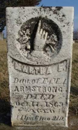 ARMSTRONG, MARTHA E - Madison County, Iowa | MARTHA E ARMSTRONG