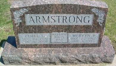 ARMSTRONG, ETHEL LORAINE - Madison County, Iowa | ETHEL LORAINE ARMSTRONG