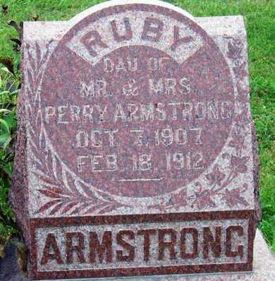 ARMSTRONG, RUBY MILDRED - Madison County, Iowa | RUBY MILDRED ARMSTRONG