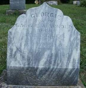 ARNOLD, GEORGE ELVIS - Madison County, Iowa | GEORGE ELVIS ARNOLD