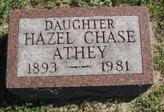 CHASE ATHEY, LILLIE HAZEL - Madison County, Iowa | LILLIE HAZEL CHASE ATHEY